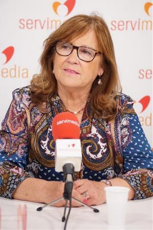 Manuela Muro, en una entrevista en Servimedia.