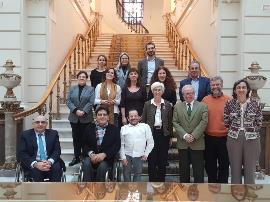 Reunión de los representantes de la discapacidad con la fiscal general.