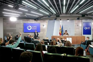 Imagen del Consejo de Ministros (Pool Moncloa/JM Cuadrado)