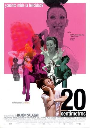 Cartelera de la película '20 centímetros'