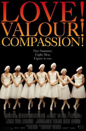 cartelera de la película 'Love, valour and compassion'