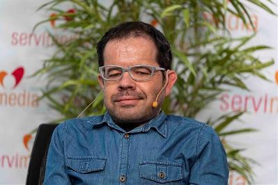 Jesús Martín, coautor de la guía y delegado del CERMI Estatal para los Derechos Humanos y la Convención Internacional de la Discapacidad