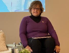 Marta Valencia, presidenta de Cemudis