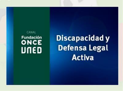 """curso """"Discapacidad y Defensa Legal Activa"""""""