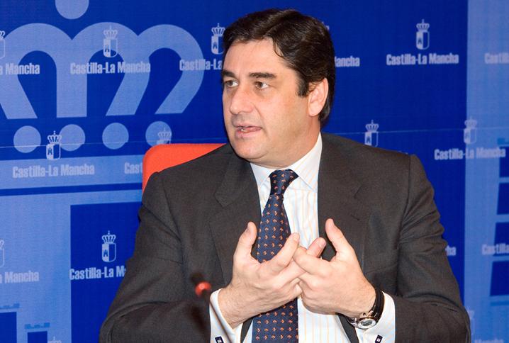 José Ignacio Echániz, consejero de Sanidad y Asuntos Sociales de Castilla-La Mancha