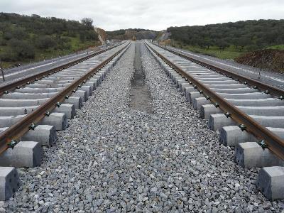 Vías de tren (imagen del Ministerio de Transportes)