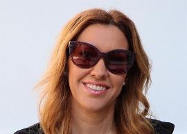 Mercedes López, primera diputada del Parlamento Andaluz con discapacidad visual, portavoz de Ciudadanos en la Comisión de Discapacidad