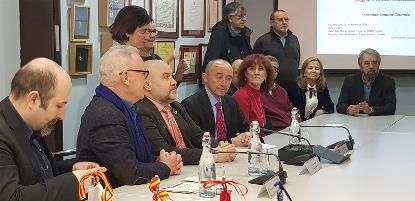 Acto de entrega del reconocimiento 'Amigo de las personas con discapacidad' a Fernando Lamata Cotanda, médico y político