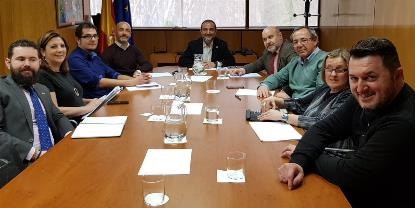 Representantes del CERMI y el Imserso.