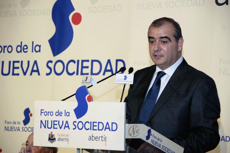 El presidente de la Plataforma del Tercer Sector, Luciano Poyato