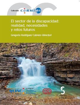 """Portada del libro """"El sector de la discapacidad: realidad, necesidades y retos futuros"""""""