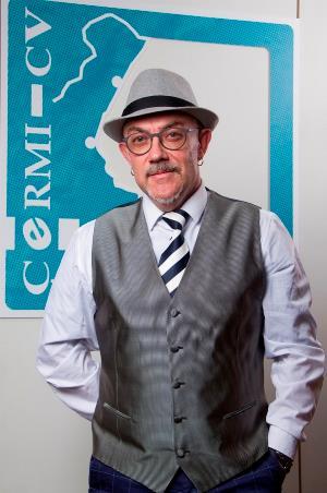 Luis Vañó, en el CERMI CV.
