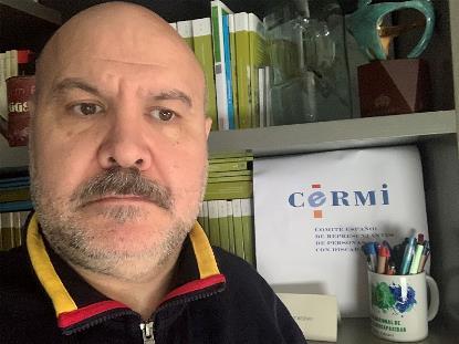Luis Cayo Pérez Bueno, presidente del CERMI Estatal