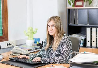 Mónica Oviedo, presidenta de CERMI Asturias