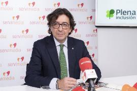 Santiago López, presidente de Plena inclusión España