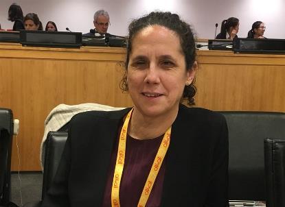 Ana Peláez Narváez, vicepresidenta del Foro Europeo de la Discapacidad y vicepresidenta Ejecutiva de la Fundación CERMI Mujeres