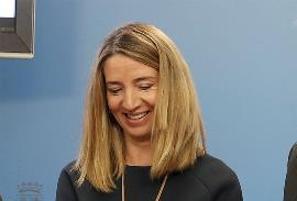 Alicia García Rodríguez, portavoz del Grupo Popular en la Comisión Derechos Sociales y Políticas Integrales de la Discapacidad del Congreso de los Diputados