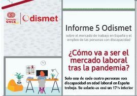 Ilustración sobre la presentación del informe Odismet