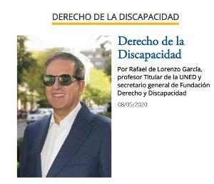 Imagen de la nueva sección del cermi semanal, Derecho de la Discapacidad