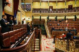 Imagen del Congreso durante una sesión del pasado miércoles 13 de mayo