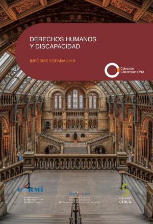 """Portada del """"Informe de Derechos Humanos y Discapacidad - España 2019"""""""