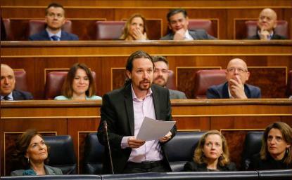 Pablo Iglesias, vicepresidente segundo y ministro de Derechos Sociales y Agenda 2030