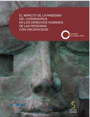 Portada del informe 'El impacto de la pandemia del coronavirus en los derechos humanos de la personas con discapacidad en España'