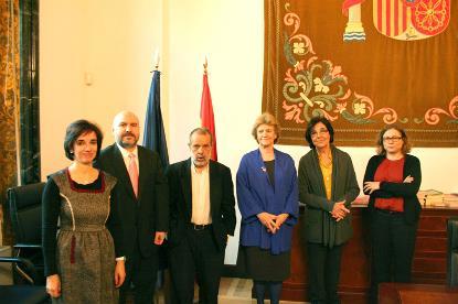 El CERMI se reúne con la Defensora del Pueblo, Soledad Becerril, el Adjunto Primero, Francisco Fernández Marugán y la Adjunta Segunda, Concepció Ferrer