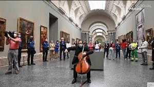 Acto de reapertura del Museo del Prado con música en directo como homenaje