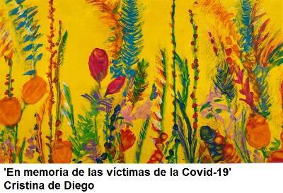 'En memoria de las víctimas de la Covid-19', de Cristina de Diego