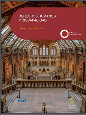 Portada de 'Derechos Humanos y Discapacidad. Informe España 2019'