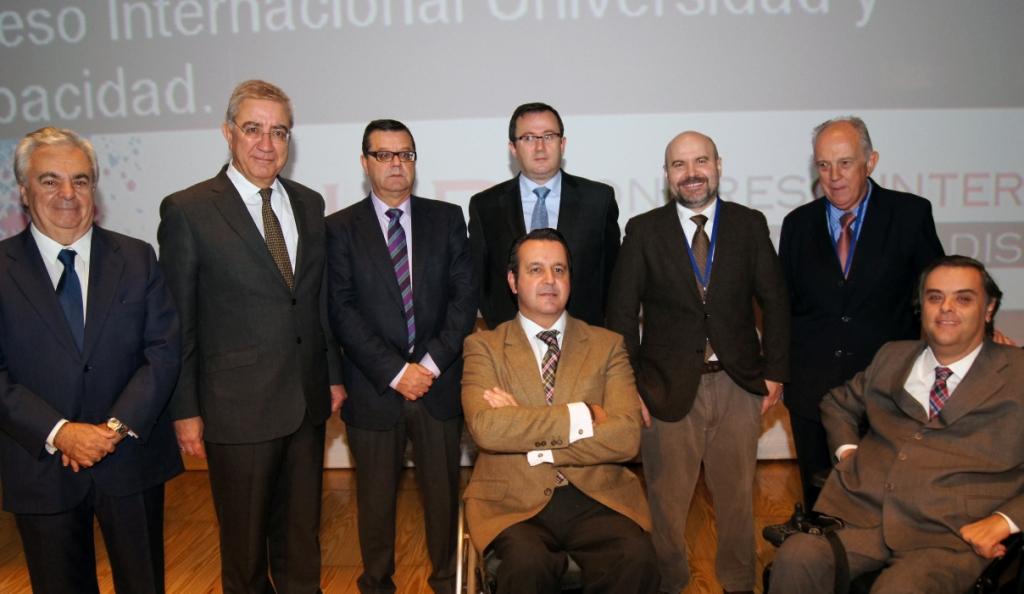 Inauguración del I Congreso Internacional Universidad y Discapacidad