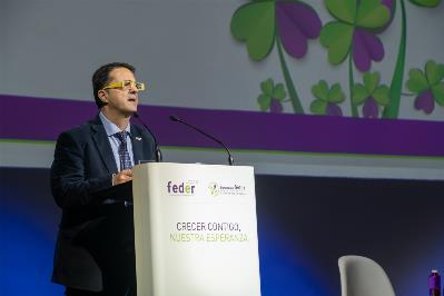 El presidente de FEDER, Juan Carrion.