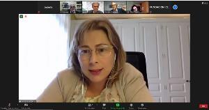 Ana Sastre, directora General de Infancia, Familia y Natalidad de la Comunidad de Madrid