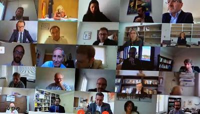 reunión telemática del Consejo Consultivo para la Transformación Digital