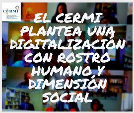 El CERMI plantea una digitalización con rostro humano y dimensión social