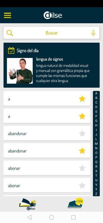 Diccionario LSE.