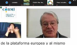 José Luis Tejedor, presidente de la Plataforma Europea AGE