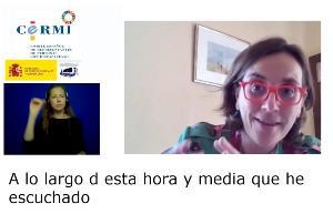 Maite Fernández, del Real Patronato sobre Discapacidad