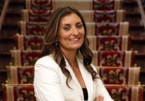 Sara Giménez, diputada de Ciudadanos