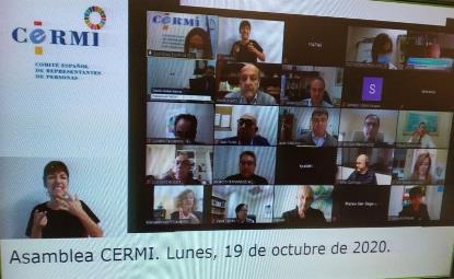 El CERMI Estatal ha renovado hoy en Asamblea Electoral sus órganos de dirección y gobierno para los próximos cuatro años