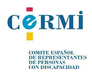 Logo del CERMI.
