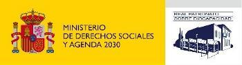 Logo del Real Patronato sobre Discapacidad.