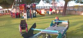 Imagen del 'Estudio sobre parques infantiles inclusivos', pertenece al parque Juan Carlos I de Madrid