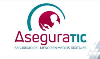 Imagen de la página de internet aseguratic-Seguridad del Menor en Medios Digitales