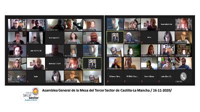Asamblea de la PTS de Castilla-La Mancha.