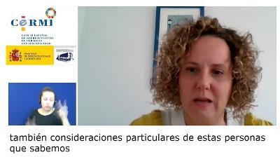Ruth Vidriales, de la Confederación Autismo España
