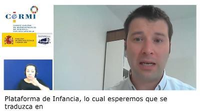 Ricardo Ibarra, de la Plataforma de Infancia