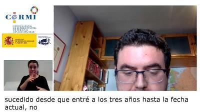 Ignacio Pantoja, joven con TEA
