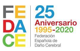 25 aniversario de Fedace 1995-2020